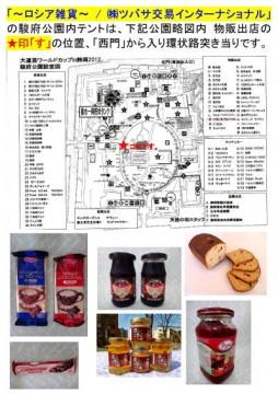 大道芸ワールドカップin静岡2012 大特価セール 出店場所