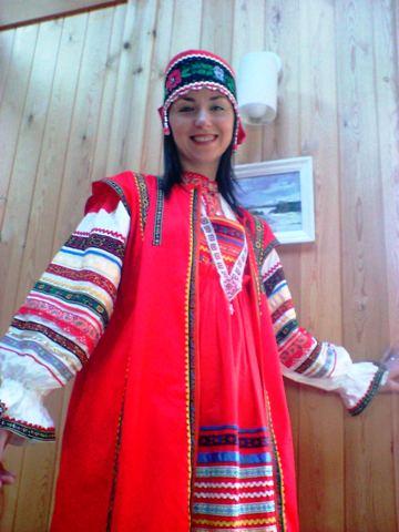 女性用 ロシア民族衣装一式A